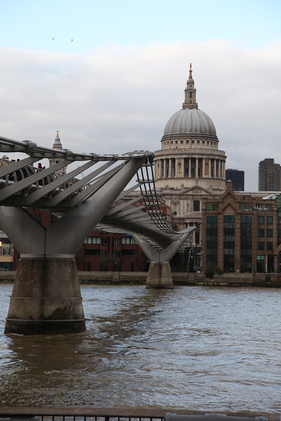 Millenium Bridge and St Paul's